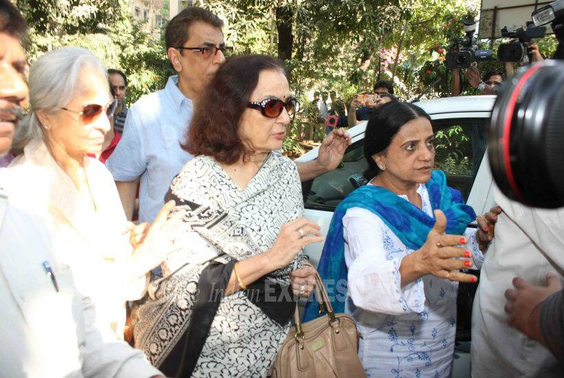 Waheeda rehman, Asha Parekh, Helen, Sadhana, Hiroo Johar, Shaina NC