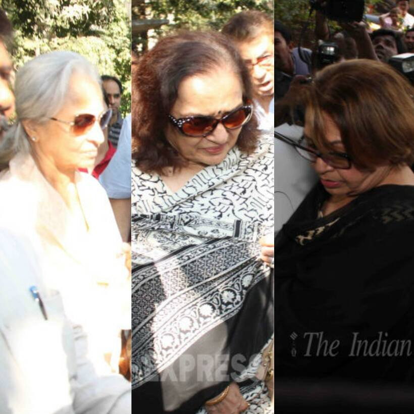 Bollywood veterans pay final respects to Sadhana at funeral