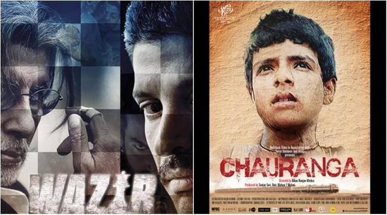 'Wazir' will clash with the social-drama 'Chauranga'.