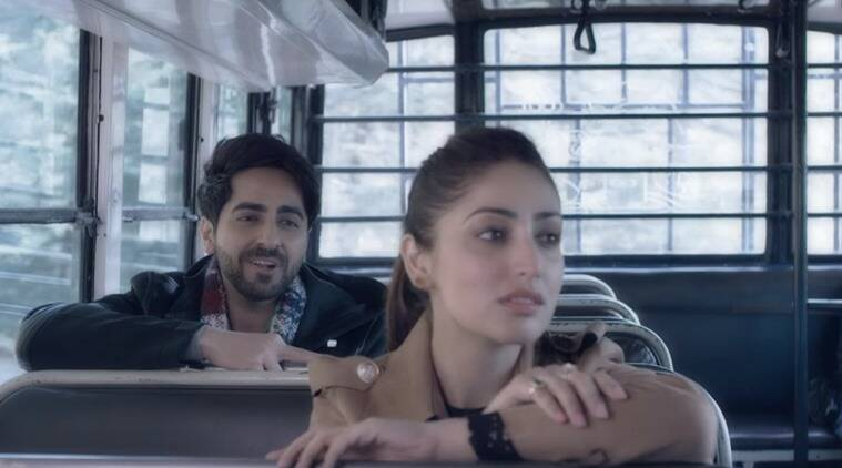 Yami Gautam looks gorgeous in new single with Ayushmann ... Yami Gautam And Ayushmann Khurrana In Vicky Donor
