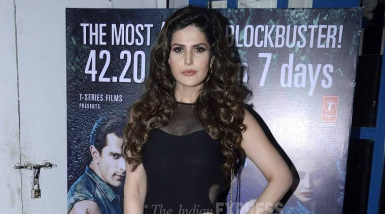 Zarine khan, Zarine khan dengue, dengue Zarine khan, Zarine khan actress, Zarine khan movies, Zarine khan news, Zarine khan dengue fever, Zarine khan news, Zarine khan next movie, entertainment news, indian express, indian express news