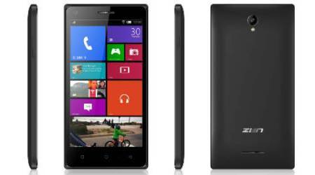 Zen Mobile launches Cinemax 2 exclusively on flipkart at Rs4,199