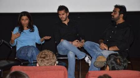 Zoya Akhtar, Ritesh Sidhwani discuss film making with students from Stanford