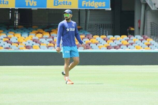 Team India sweat it out at nets