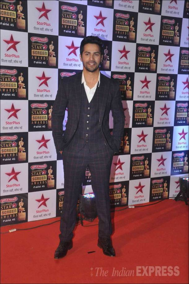 screen awards, star screen awards, screen awards pictures, screen awards pics, star screen awards pics, varun dhawan