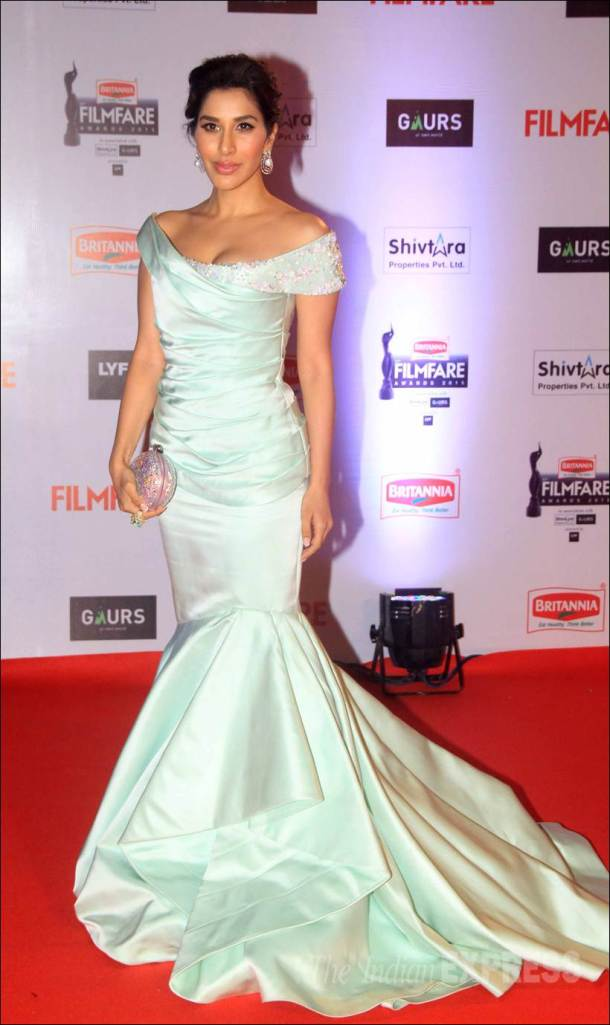 sophoe choudry, filmfare awards, filmfare pics, filmfare awards pics