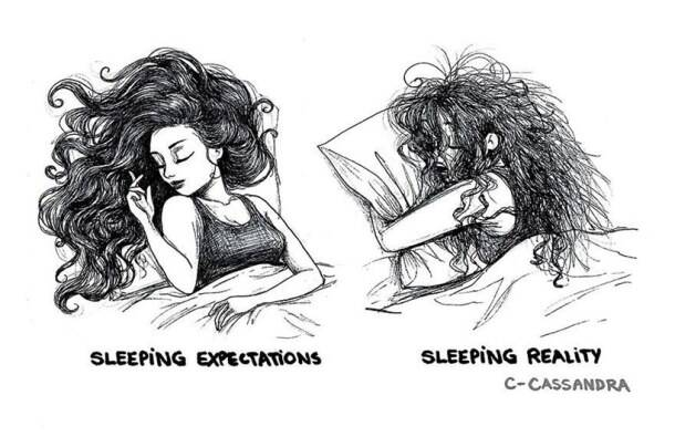 Reality vs Expectations: Romanian artist illustrates women's everyday problems