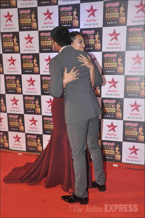 screen awards, star screen awards, screen awards pictures, screen awards pics, star screen awards pics, sonakshi, ranveer