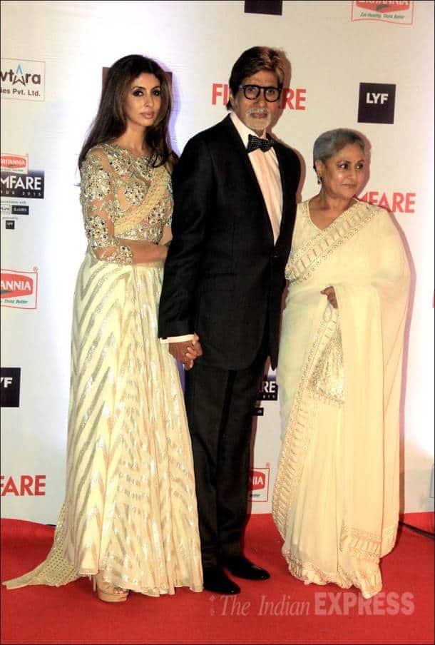 amitabh bachchan, jaya bachchan, filmfare awards, filmfare pics, filmfare awards pics