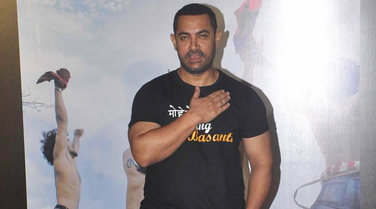 Aamir Khan, Dangal, Aamir Khan Dangal, Dangal cast, Dangal shot, Aamir Khan films, Aamir Khan upcominng films, entertainment news