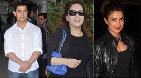 Lohri, Aamir Khan, Madhuri Dixit Nene, Priyanka Chopra, Madhur Bhandarkar, Lohri wishes, entertainment news, Lohri news