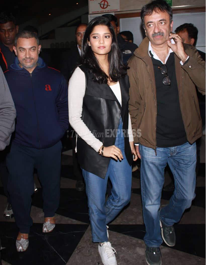 Aamir Khan,, Ritika Singh, Madhavan