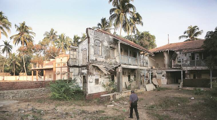 The ruins of the Majestic Hotel, once the hub of Parsi revelry in Udvada. (Photo: Amit Chakravarty)