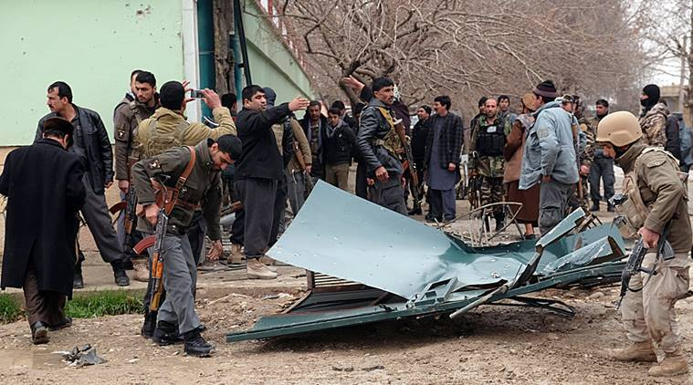 afghanistan, indian consulate, indian consulate attack, Mazar-e-Sharif, afghan police, afghanistan police, terror attack, indian mission in afghanistan