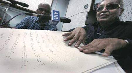 Louis Braille's birth anniversary: In a first, visually-impaired man reads news on AIR Pune