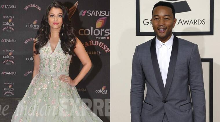 Aishwarya Rai Bachchan, John Legend, Aishwarya Rai, Singer John Legend, Aishwarya, Eva Longoria, L'Oreal Paris, Aishwarya Rai L'Oreal Paris, Entertainment news