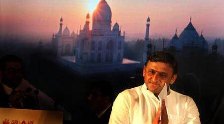 How is Taj turning green: CM Akhilesh