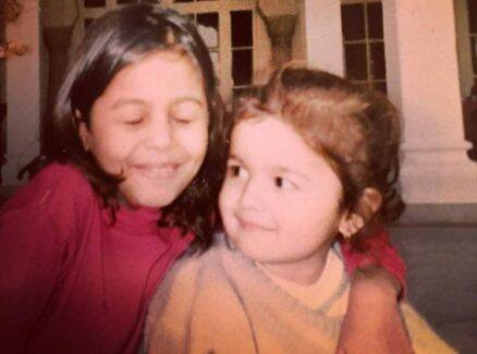 Alia Bhatt, Alia Bhatt childhood photos