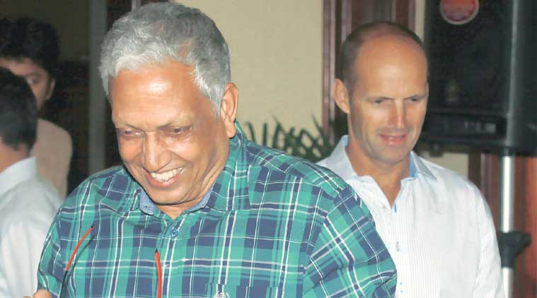 Mohinder Amarnath is on the steering committee of the players' association.