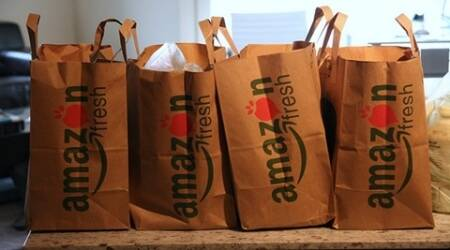 amazon, amazon grocery, amazon kirana store, amazon shop grocery, kirana now, amazon and kirana now, amazon food bazar