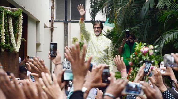 Amitabh Bachchan, Amitabh Bachchan Residence, Amitabh Bachchan Fans, Amitabh Bachchan House, Amitabh Bachchan Fans, Amitabh Bachchan Residence Jalsa, Amitabh Bachchan Te3n, Amitabh Bachchan Upcoming Film, Entertainment news