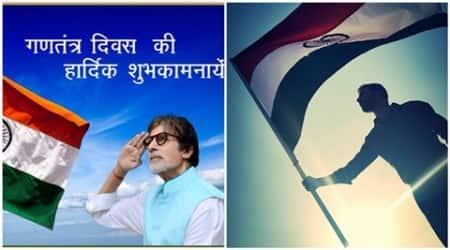 republic day, january 26, happy republic day, 67th republic day, amitabh bachchan, big b, big b republic day, akshay kumar, farhan akhtar, priyanka chopra, abhishek bachchan, entertainment news