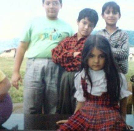 Anushka Sharma, Anushka Sharma childhood photo