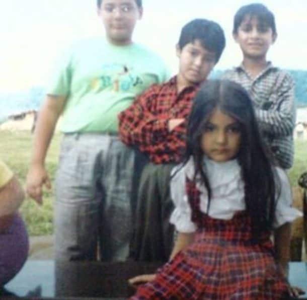 Anushka Sharma, Anushka Sharma childhood photo