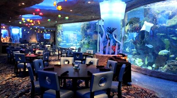 underwater restaurant disney world. PHOTOS: Water, Water Everywhere: 9 Underwater-themed Underwater Restaurant Disney World
