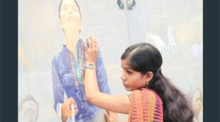 Painting exhibition for visually-impaired commencestoday