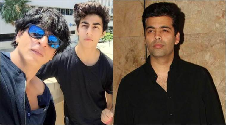 Aryan, Shah Rukh Khan, Shah Rukh Khan son, Shah Rukh Khan son aryan, Aryan news, Karan Johar, Karan Johar films, Karan Johar upcoming films, entertainment news