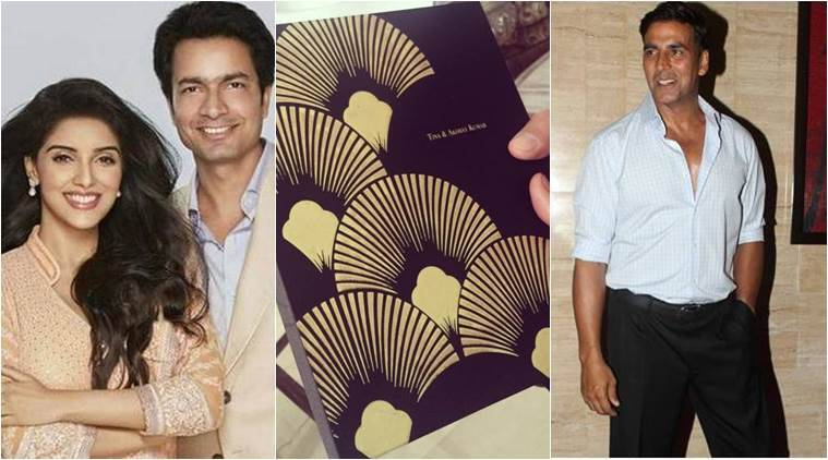 Asin, Asin wedding, Asin Rahul Sharma marriage, Asin Rahul Sharma, Asin wedding card, Asin wedding invite, Akshay kumar, entertainment news