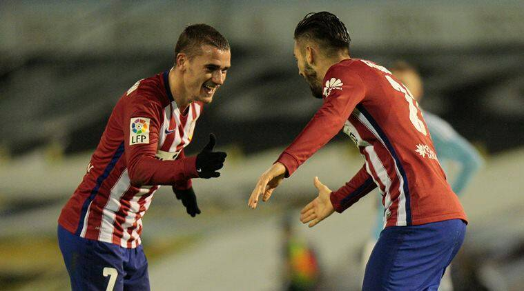 Antoine Griezmann ,Griezmann , Yannick Carrasco, Carrasco, Atletico Madrid, La Liga Atletico Madrid, Atletico Madrid vs Celta Vigo, Celta Vigo vs Atletico Madrid, Atletico Madrid updates, Football updates, Football news, Football