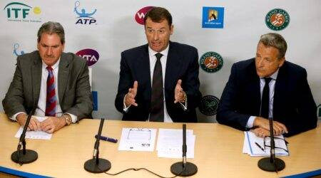Staging back-to-back ITF and ATP events is 'insane', says ATP chief