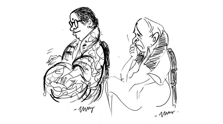 Sketches by Unny from earlier seasons.