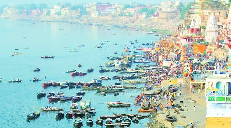 A trash skimming machine is already in use at Varanasi. Should machines ordered from abroad arrive on time, surface cleaning could begin in March
