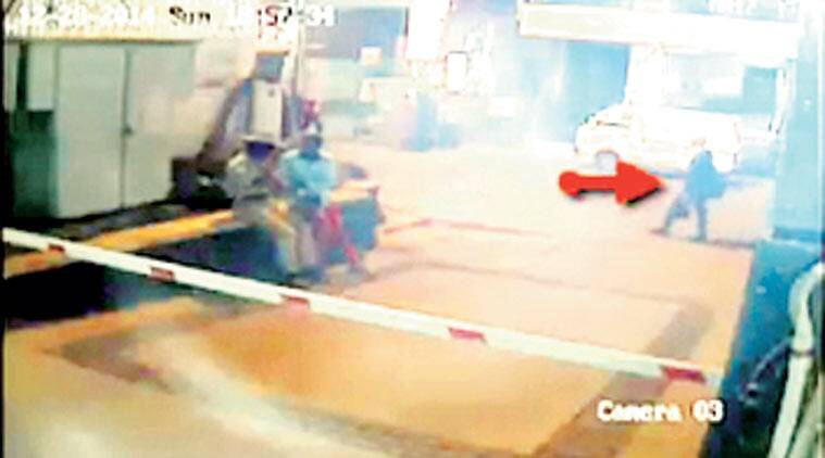 The CCTV footage of the suspect.