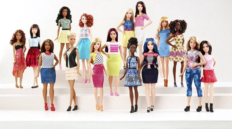 New Barbie doll body shapes of petite, tall and curvy are seen with the traditional Barbie in a photo released by Mattel on January 28, 2016. Some 57 years after the impossibly busty and narrow-waisted blue-eyed Barbie doll was first introduced, California-based toy maker Mattel on Thursday released the new models, which it says better reflect a changing world. (Photo: Reuters)