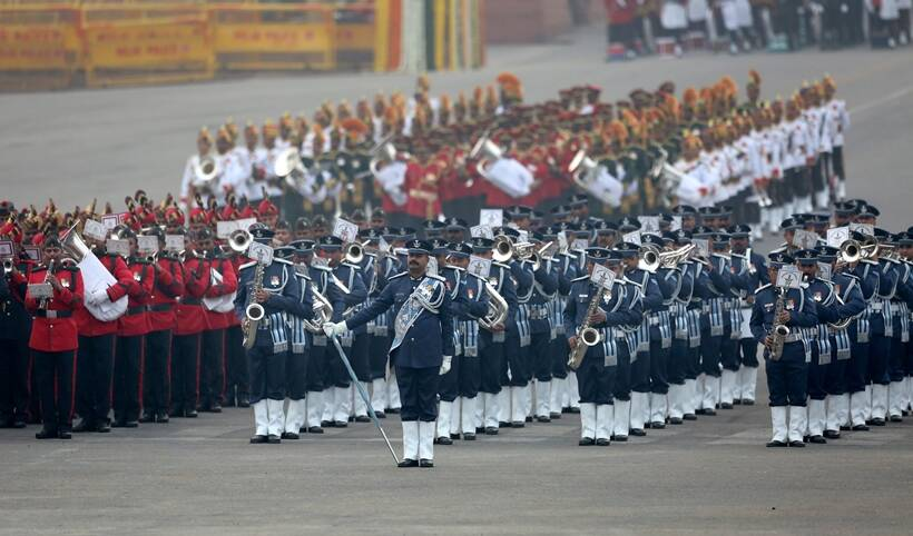 Image result for beating retreat indian republic day