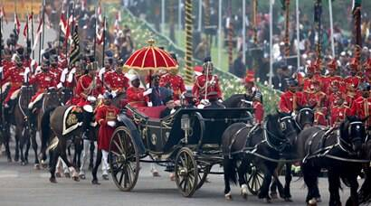 beating retreat, beating the retreat, beating retreat ceremony, beating retreat celebrations, republic day, republic day celebrations, india republic day, india news, picture, picture gallery