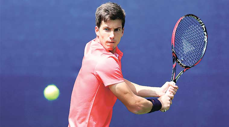 Aljaz Bedene has moved up 111 places over the last year and is currently ranked world Number 45.