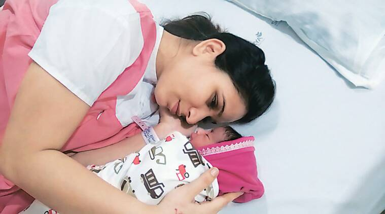 mumbai hospital, girl child birth, mumbai child birth, mumbai new