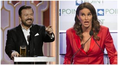 Golden Globes host Ricky Gervais defends Caitlyn Jenner joke