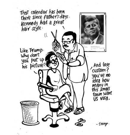 Business as usual by E.P Unny 2016