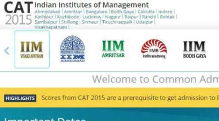 CAT Exam 2015: Results declared through sms,emails