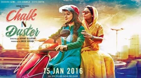 Chalk N' Duster, Chalk N' Duster review, Chalk N' Duster movie review, Chalk N' Duster film reviewm juhi chawla, shabana azmi