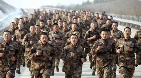 china military, people's republic army, PLA, battle zone, Xi jinping
