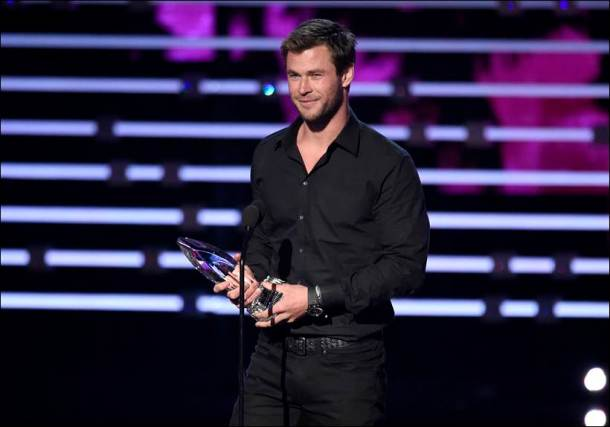 chris hemsworth, peoples choice awards, winners at people choice awards