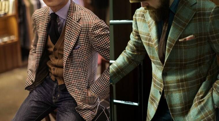 Checkered coats are the hottest trend in 2016. Give them a go ahead, you will love it. (Photo: Pinterest)