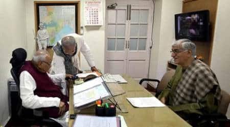 chhattisgarh tapes, antagarh bypoll, antagarh bypoll fixing, antagarh bypoll case chief secreatry, Chhattisgarh Congress, Bhupesh Baghel, election commission, raman singh, chhattisgarh news, india news,
